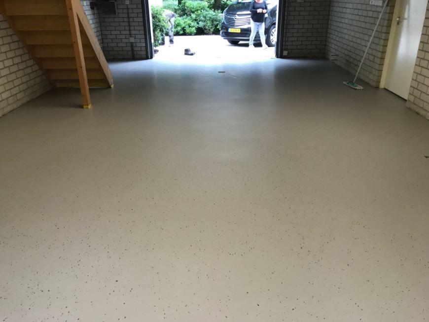 Epoxy antislip garage Breda