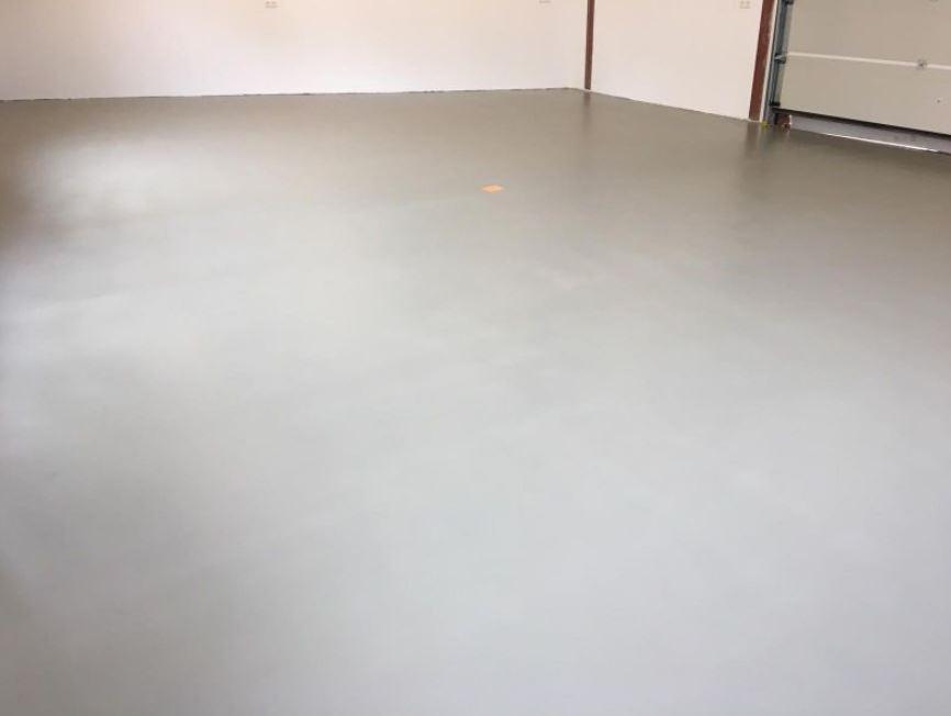 Gietvloer garage Breda
